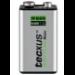 Tecxus 9V NiMH Nickel Metal Hydride 200mAh 9V rechargeable battery