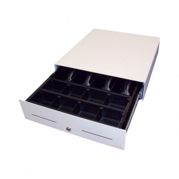 APG Cash Drawer Undertable mounting, white for Standard - Approx 1-3 working day lead.