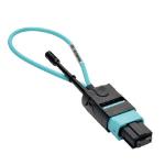 Tripp Lite MTP / MPO Fiber Optic Loopback Tester (Multimode 50/125um, OM3) - Female