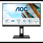 """AOC P2 27P2Q LED display 68.6 cm (27"""") 1920 x 1080 pixels Full HD Black"""