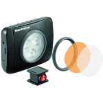 Manfrotto MLUMIEPL-BK camera flash Compact flash Black