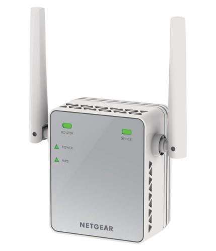 Netgear EX2700-100PES network extender Network repeater White
