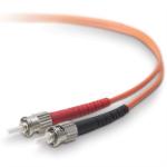 Belkin 10m ST - ST 10m ST ST Orange fiber optic cable