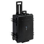 B&W 6800/B/RPD equipment case Briefcase/classic case Black