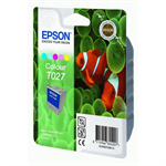 Epson C13T02740110 (T027) Ink cartridge color, 220 pages, 46ml
