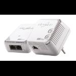 Devolo dLAN 500 WiFi 500 Mbit/s Ethernet LAN Wi-Fi White 1 pc(s)