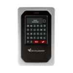 DataLocker DL4 FE external hard drive 1000 GB Aluminum, Black
