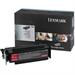 Lexmark 12A8544 Toner black, 10K pages @ 5% coverage