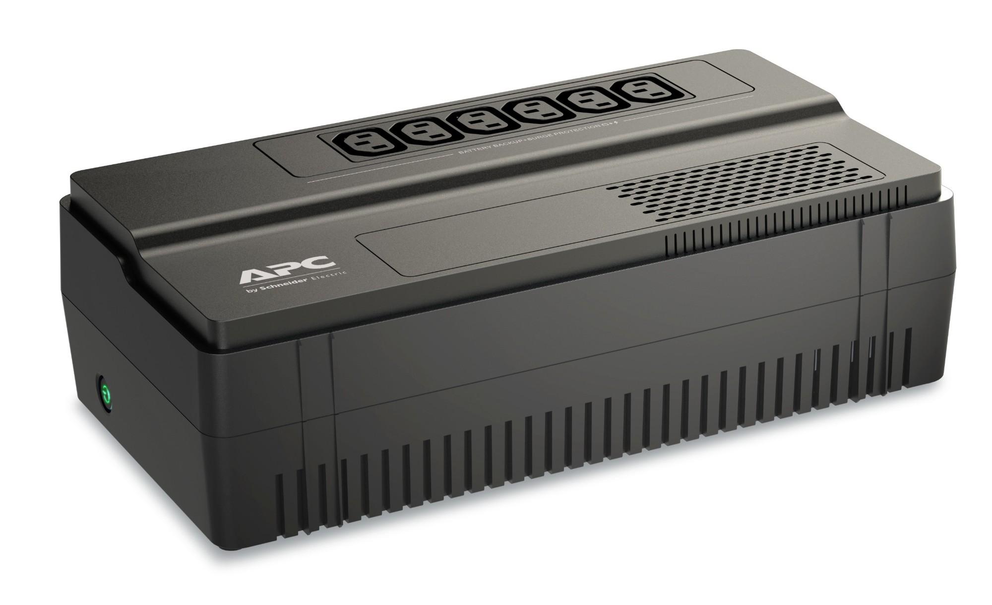 APC BV650I sistema de alimentación ininterrumpida (UPS) Línea interactiva 650 VA 375 W 1 salidas AC