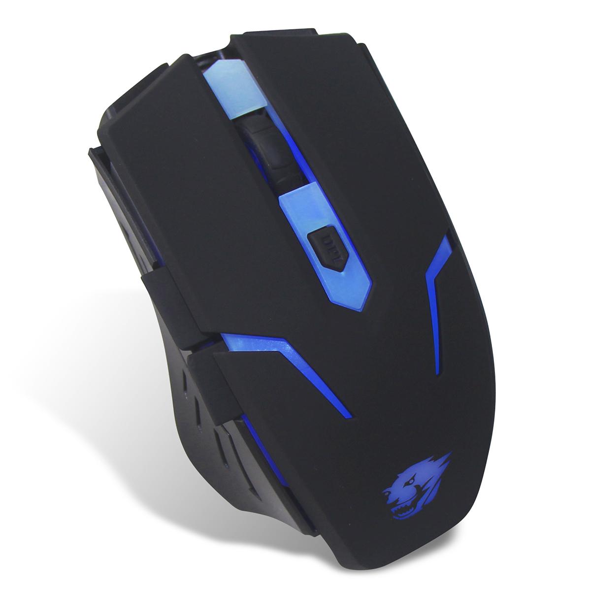 Powercool GM001 USB 2400DPI Black Right-hand mice
