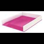 Leitz 53611023 Polystyrene Metallic, Pink desk tray