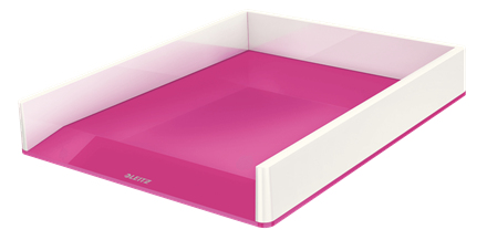 Leitz 53611023 desk tray Polystyrene Metallic,Pink