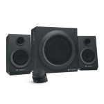 Logitech Z333 2.1channels 40W Black speaker setZZZZZ], 980-001202