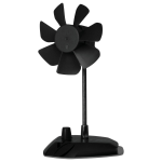 ARCTIC Breeze Color (Black) - USB Table Fan
