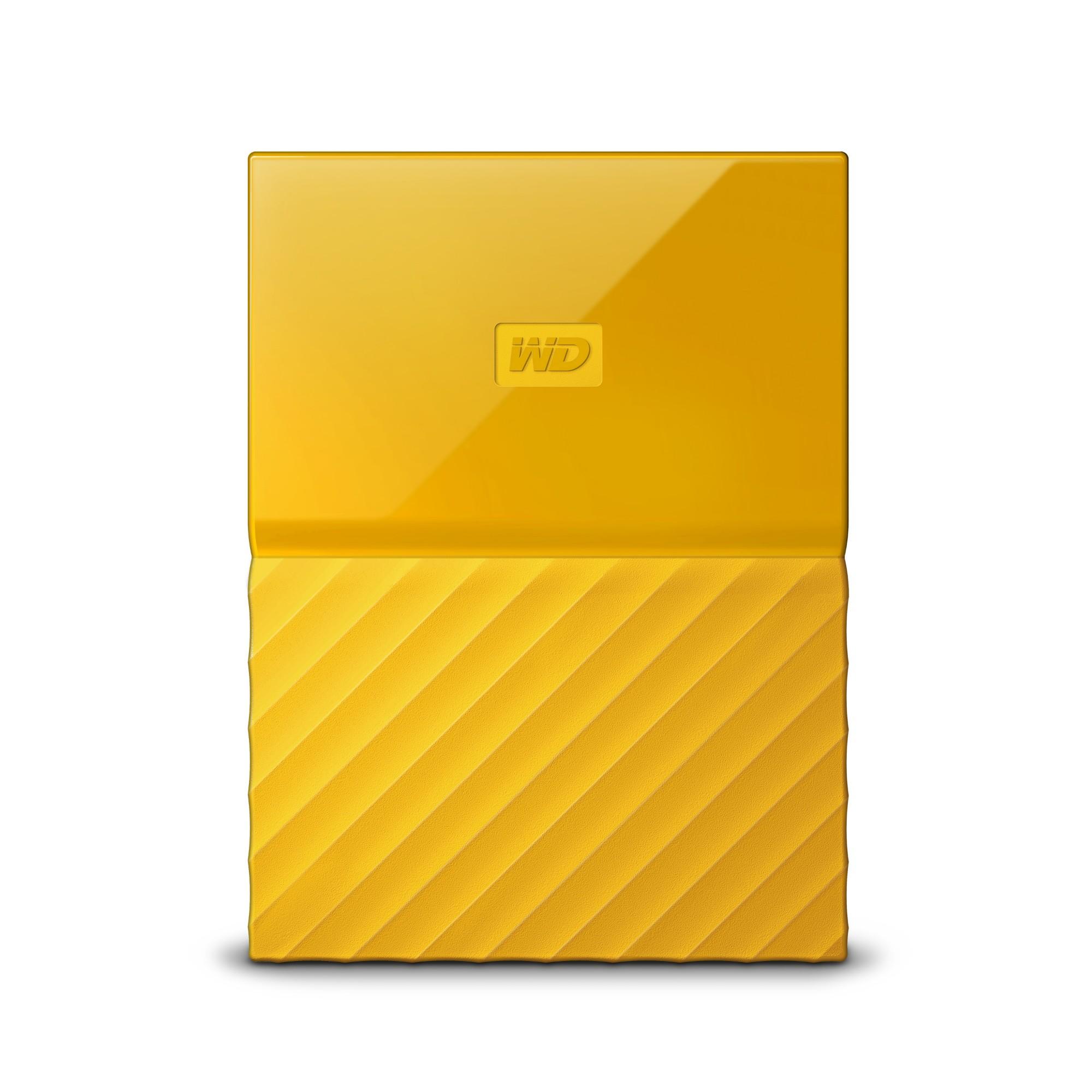 Western Digital My Passport external hard drive 1000 GB Yellow