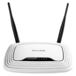 TP-LINK TL-WR841N wireless router Single-band (2.4 GHz) Fast Ethernet Black,White