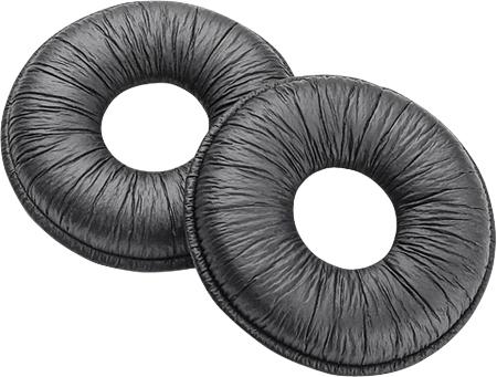 Plantronics Leatherette Leather Black headphone pillow