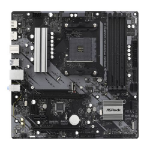 Asrock B550M PHANTOM GAMING 4 AMD B550 AM4 Micro ATX 4 DDR4 HDMI DP XFire PCIe4 M.2