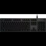 Logitech G G512 Carbon, G512 keyboard USB Black