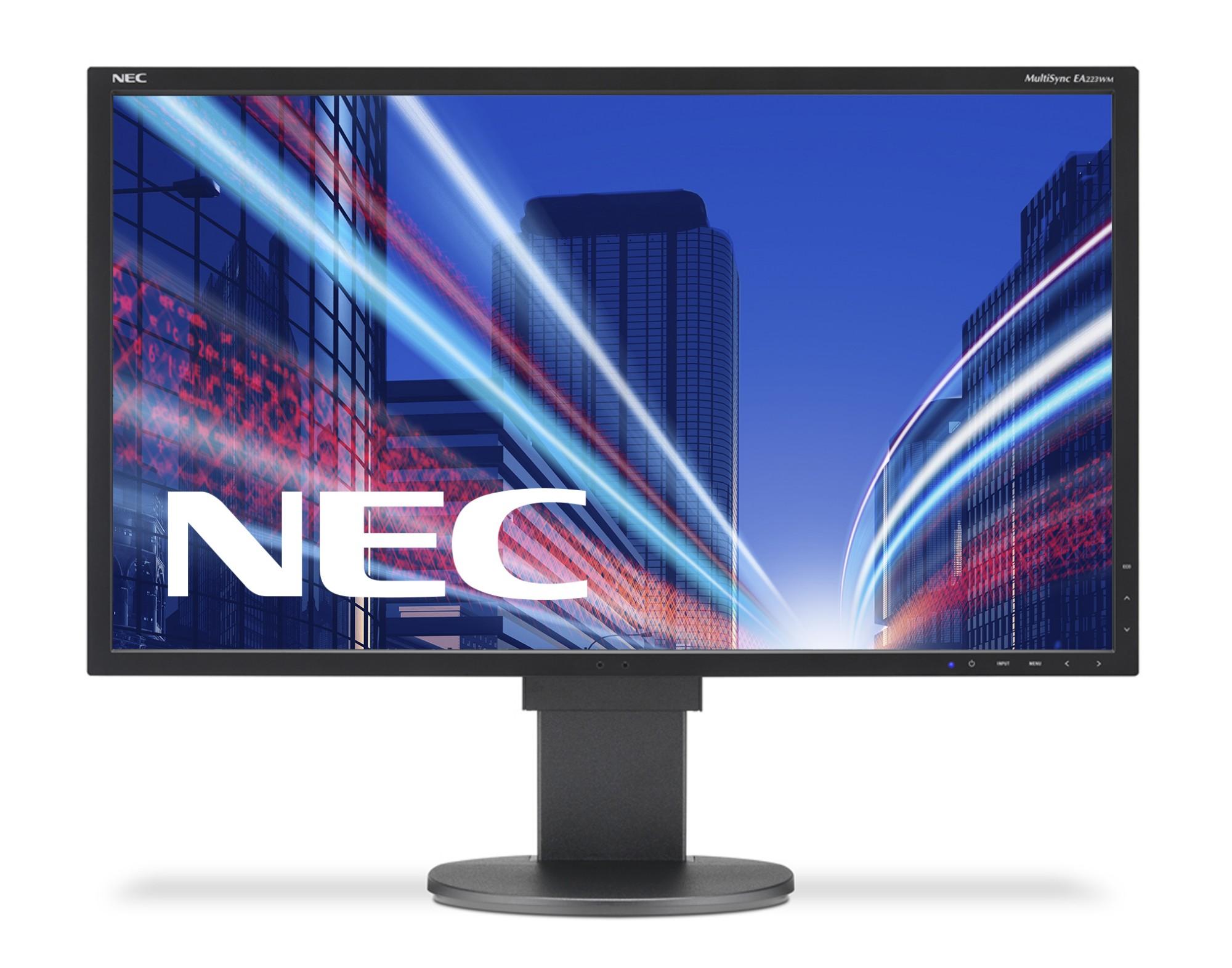 "NEC MultiSync EA223WM 55,9 cm (22"") 1680 x 1050 Pixeles LED Negro"