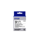 Epson Strong Adhesive Tape - LK-3WBW Strng adh Blk/Wht 9/9