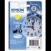 Epson Alarm clock Singlepack Yellow 27 DURABrite Ultra Ink