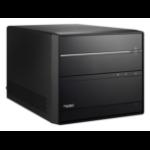 Shuttle XPC cube SH370R6 PC/workstation barebone Black Intel® H370 LGA 1151 (Socket H4)