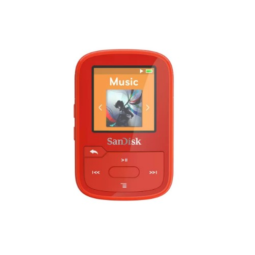 SanDisk Clip Sport Plus MP3 player 32 GB Red