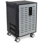 Ergotron Zip40 Portable device management cabinet Black,Grey