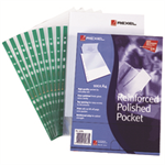 Rexel Reinforced Top Opening Pockets (100)