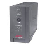 APC BK500BLK Back-UPS CS 500VA Black uninterruptible power supply (UPS)