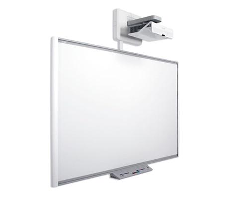 "SMART Technologies M680 interactive whiteboard 195.6 cm (77"") Touchscreen USB Grey,White"