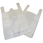 FSMISC KENDON CARRIER BAG BIODGRDBLE WHT PK1000