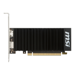 MSI GEFORCE GT 1030 2GH LP OC NVIDIA 2 GB GDDR5