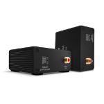 Lindy 70456 AV extender AV transmitter & receiver Black