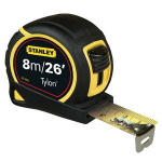 Stanley 0-30-656 8m Black,Yellow tape measure