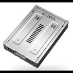 "Icy Dock FullMetal 2.5""SAS Dual HDD SSD"