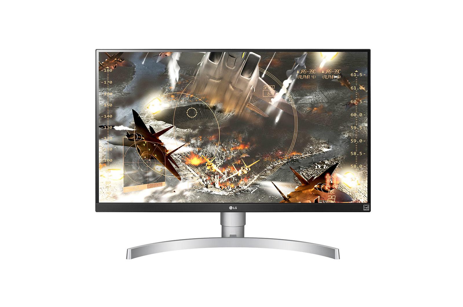 """LG 27UL650-W LED display 68.6 cm (27"""") 4K Ultra HD Flat Matt Silver"""