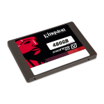 "Kingston Technology SV300S37A/480G 480GB 2.5"" Serial ATA III internal solid state drive"