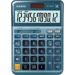 Casio DF-120EM 12 Digit Desktop Calculator Silver