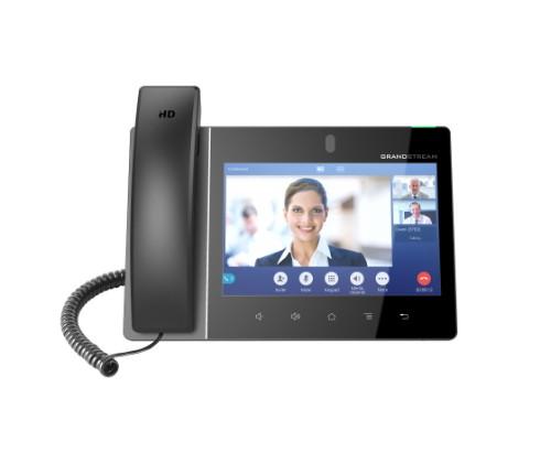 Grandstream Networks GXV3380 IP phone Black Wired handset IPS 16 lines Wi-Fi