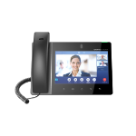 Grandstream Networks GXV3380 IP phone Black Wired handset IPS 16 lines Wi-Fi