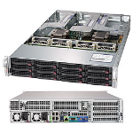 Supermicro SuperServer 6029U-TR4 Intel® C621 LGA 3647 Rack (2U) Black