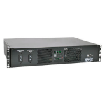 Tripp Lite PDUMH32HVAT 7.7kW Single-Phase 200-240V Metered Automatic Transfer Switch PDU, 2 IEC309 32A Blue Inputs, 16 C13, 2 C19 Outlets, 2U, TAA
