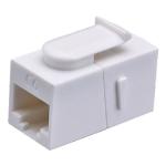 Cablenet Cat6 UTP Female-Female Keystone White