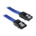 BitFenix SATA 6Gb/s, 0.3m 0.3m Blue SATA cable