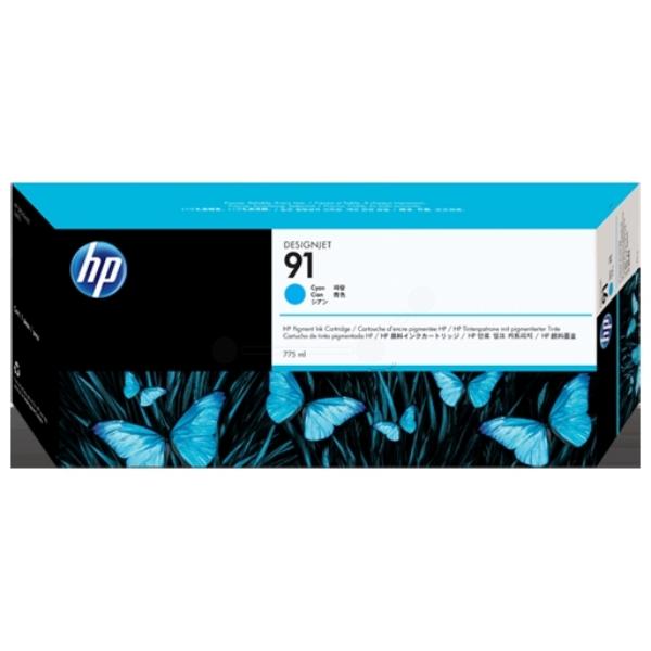 HP C9467A (91) Ink cartridge cyan, 775ml