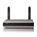 Lancom Systems 1781VAW Dual-band (2.4 GHz / 5 GHz) Gigabit Ethernet 3G Black wireless router
