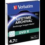Verbatim 4.7GB DVD-R 3 pc(s)