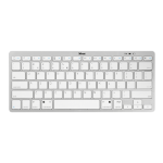 Trust Nado UK keyboard Bluetooth QWERTY UK English Silver